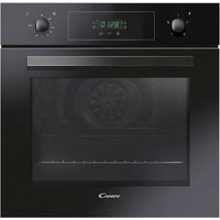 Built-in Single Electric Oven Fan Oven Black