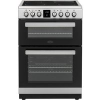 600mm Multi-Function Double Oven Ceramic Hob S/Steel