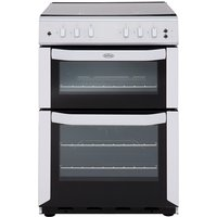 550mm Twin Cavity Gas Cooker FSD White
