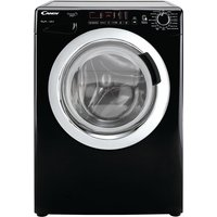 1400rpm Washing Machine 8kg Load Class A+ Black