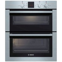 Bosch HBN13B251B CLASSIXX Built Under Electric Double Oven in Br Steel