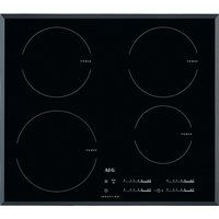 600mm Induction Hob Touch Control Minute Minder Black