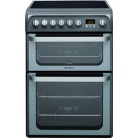 600mm Double Electric Oven Ceramic Hob Graphite