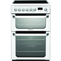 600mm Double Electric Oven Ceramic Hob Polar White