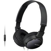 Headband Corded Headphones 30mm Driver Unit Black