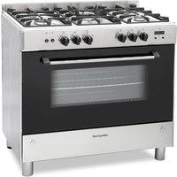 900mm Gas Range Cooker 5 x Burner Hob S/Steel