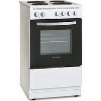 500mm Single Electric Oven & Grill White