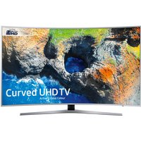 55inch Curved 4K UHD LED HDR SMART TV WiFi TVPlus