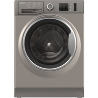 1400rpm Washing Machine 8kg Load Class A+++ Graphite
