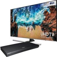 55inch UHD 4K LED SMART TV HDR1000 TVPlus Twin Tuners