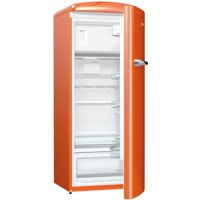 260litre RETRO Fridge Ice Box Class A+++ Juicy Orange