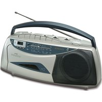 Portable Radio Cassette Player Built-in Mic