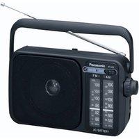 AM/FM Analogue Radio Black