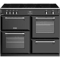 1100mm Electric Range Cooker Induction Hob Black