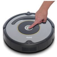 Robotic Bagless Cleaner 90-Minutes Run-Time Black/Grey