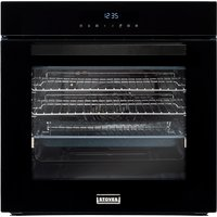 600mm Built-in Single Electric Oven Multifunction Black