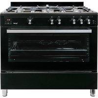 900mm Gas Range Cooker 5 x Gas Burner Hob WOK Burner