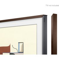 Customisable Walnut Bezel for The Frame 55inch TV