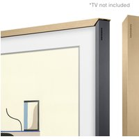 Customisable Beige Wood Bezel for The Frame 55inch TV