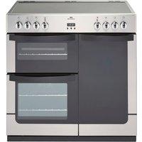 900mm Electric Range Cooker 5-Zone Ceramic Hob S/Steel