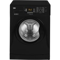 1200rpm Washing Machine 9kg Load Class A+++ Black