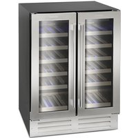 38 Bottle Capacity Dual Zone Wine Cooler Class C S/St
