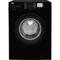 1200rpm Washing Machine 8kg Load Class A+++ Black