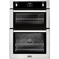 Built-in Double Gas Oven Minute Minder S/St