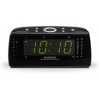 FM/MW Dual Alarm Clock Radio Sleep Function