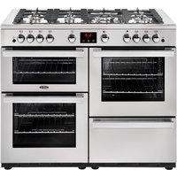 1100mm Gas Range Cooker 7 Burners Inc WOK S/Steel