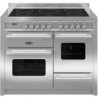 1100mm Twin Electric Range Cooker Induction Hob S/Steel