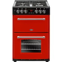 600mm Double Dual Fuel Cooker Gas Hob Hot Jalapeno