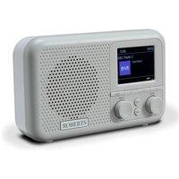 DAB/DAB+/FM Radio RDS 6-Station Presets White