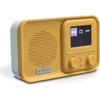 DAB/DAB+/FM Radio RDS 6-Station Presets Yellow Submarin