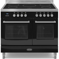 1000mm Twin Electric Range Cooker Induction Hob Black