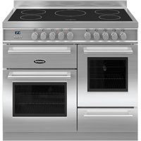 1000mm Electric Range Cooker Induction Hob S/St