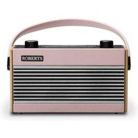 1970s Retro Radio DAB/DAB+/FM 20-Station Preset Pink