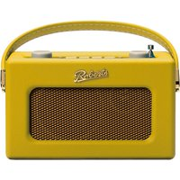 Revival DAB/DAB+/FM RDS Digital Radio Dual Alarm Yellow