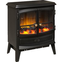Stove Fire Optiflame® Coal Effect Remote Control Black