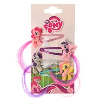4 Pack My Little Pony Hair Snap Clips - My Little Pony Gifts