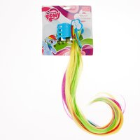 My Little Pony Rainbow Dash Clip In Faux Hair Claw - My Little Pony Gifts
