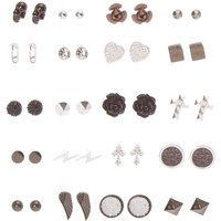 Gothic Romance Stud Earrings Set of 20 - Romance Gifts