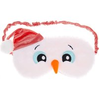 Fluffy Snowman Sleeping Mask - Fluffy Gifts