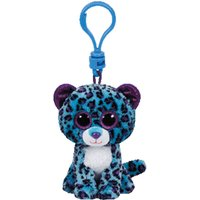 TY Beanie Boos Lizzie the Leopard The Fox Keyring Clip - Ty Beanie Boos Gifts