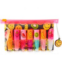 7 Pack Smiley World Fruity Nail Polish - Smiley Gifts