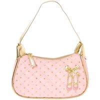 Pink and Gold Ballet Shoes Zipper Purse - Ballet Gifts