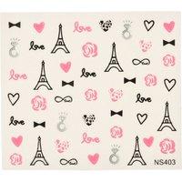 Parisian Nail Art Stickers - Nail Art Gifts