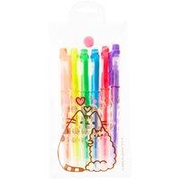 6 Pack Pusheen Highlighter Pens - Pens Gifts