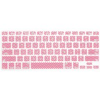 Pink Chevron Print Silicone Keyboard Cover - Pink Gifts