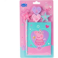 Peppa Pig Pencil Topper Stationery Set - Stationery Gifts